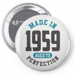 Made in 1959 Pin-back button | Artistshot