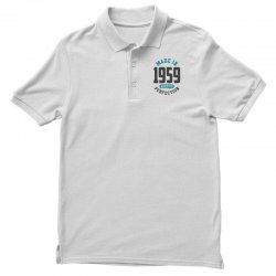 Made in 1959 Polo Shirt | Artistshot
