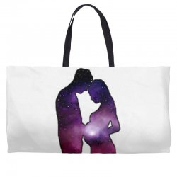 REAL FATHER MOTHERS DREAMS Weekender Totes | Artistshot