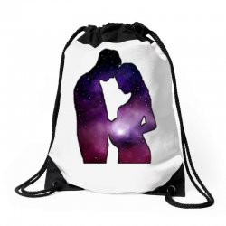 REAL FATHER MOTHERS DREAMS Drawstring Bags | Artistshot