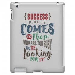 Motivation for success iPad 3 and 4 Case | Artistshot