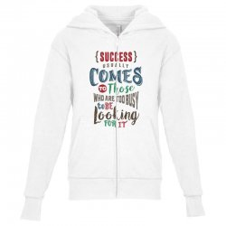 Motivation for success Youth Zipper Hoodie | Artistshot
