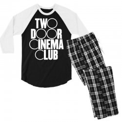 Two Door Cinema Club Men's 3/4 Sleeve Pajama Set | Artistshot