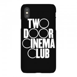 Two Door Cinema Club iPhoneX Case | Artistshot