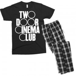 Two Door Cinema Club Men's T-shirt Pajama Set | Artistshot