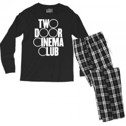 Two Door Cinema Club Men's Long Sleeve Pajama Set | Artistshot