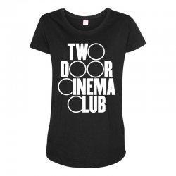 Two Door Cinema Club Maternity Scoop Neck T-shirt | Artistshot