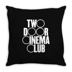 Two Door Cinema Club Throw Pillow | Artistshot