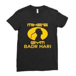Mike's Gym Ladies Fitted T-Shirt | Artistshot