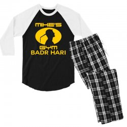 Mike's Gym Men's 3/4 Sleeve Pajama Set | Artistshot