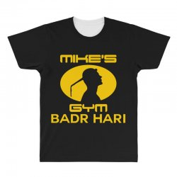 Mike's Gym All Over Men's T-shirt | Artistshot
