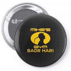 Mike's Gym Pin-back button | Artistshot