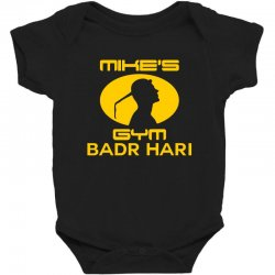 Mike's Gym Baby Bodysuit | Artistshot