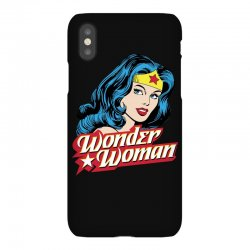 wonder woman face iPhoneX Case | Artistshot