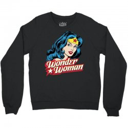 wonder woman face Crewneck Sweatshirt | Artistshot