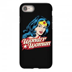 wonder woman face iPhone 8 Case | Artistshot