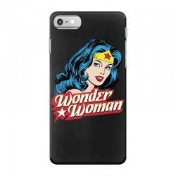 wonder woman face iPhone 7 Case | Artistshot