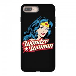wonder woman face iPhone 8 Plus Case | Artistshot