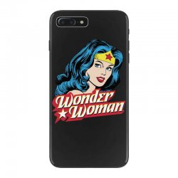 wonder woman face iPhone 7 Plus Case | Artistshot
