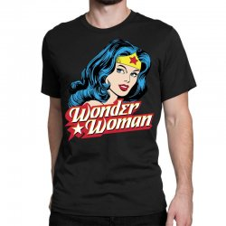 wonder woman face Classic T-shirt | Artistshot