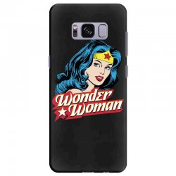 wonder woman face Samsung Galaxy S8 Plus Case | Artistshot
