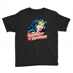 wonder woman face Youth Tee | Artistshot