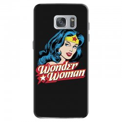 wonder woman face Samsung Galaxy S7 Case | Artistshot