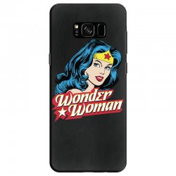 wonder woman face Samsung Galaxy S8 Case | Artistshot