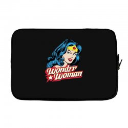 wonder woman face Laptop sleeve | Artistshot