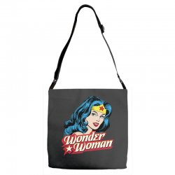 wonder woman face Adjustable Strap Totes | Artistshot