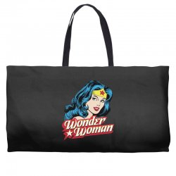 wonder woman face Weekender Totes | Artistshot