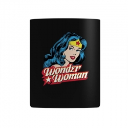 wonder woman face Mug | Artistshot