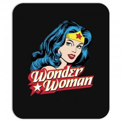 wonder woman face Mousepad | Artistshot