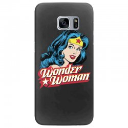 wonder woman face Samsung Galaxy S7 Edge Case | Artistshot