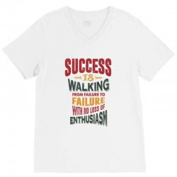 Motivation for success V-Neck Tee | Artistshot