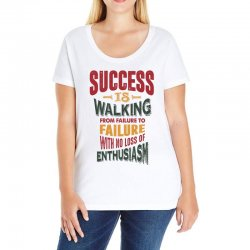 Motivation for success Ladies Curvy T-Shirt | Artistshot