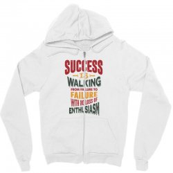 Motivation for success Zipper Hoodie | Artistshot