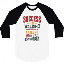 Motivation for success 3/4 Sleeve Shirt | Artistshot