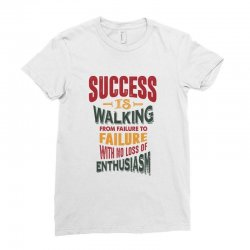 Motivation for success Ladies Fitted T-Shirt | Artistshot