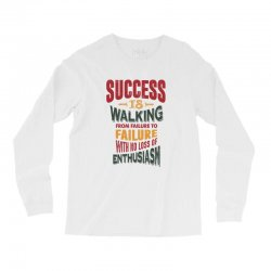 Motivation for success Long Sleeve Shirts | Artistshot