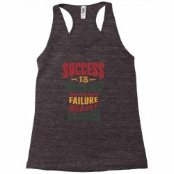 Motivation for success Racerback Tank | Artistshot