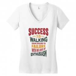 Motivation for success Women's V-Neck T-Shirt | Artistshot