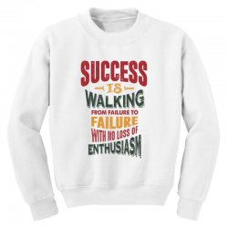 Motivation for success Youth Sweatshirt | Artistshot
