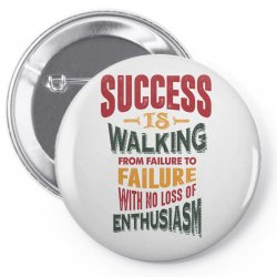 Motivation for success Pin-back button | Artistshot
