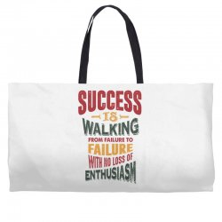 Motivation for success Weekender Totes | Artistshot