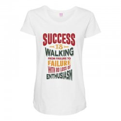 Motivation for success Maternity Scoop Neck T-shirt | Artistshot
