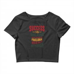 Motivation for success Crop Top | Artistshot