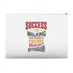 Motivation for success Accessory Pouches | Artistshot