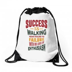 Motivation for success Drawstring Bags | Artistshot