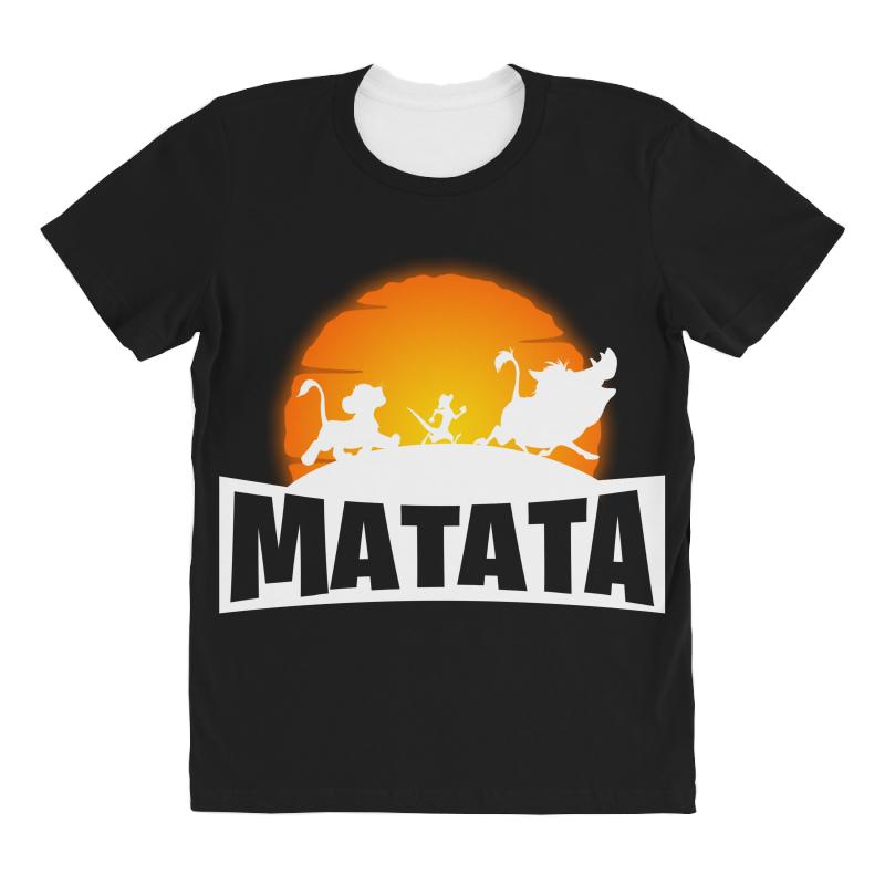 Matata Fortnite For Dark All Over Women's T-shirt | Artistshot